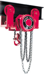 Zephyr low head room hoists
